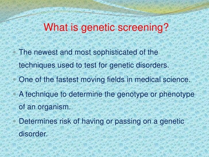 Newborn Genetic Screening