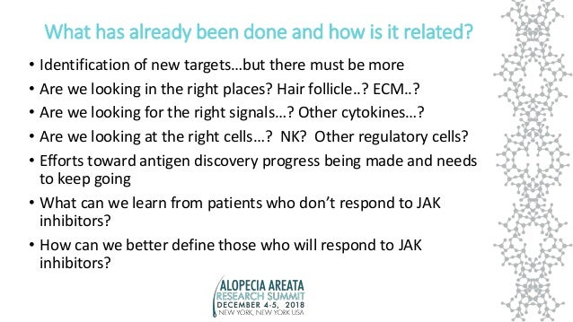 Genetics, Immunology and Therapeutic Targets Breakout Report Slide 2