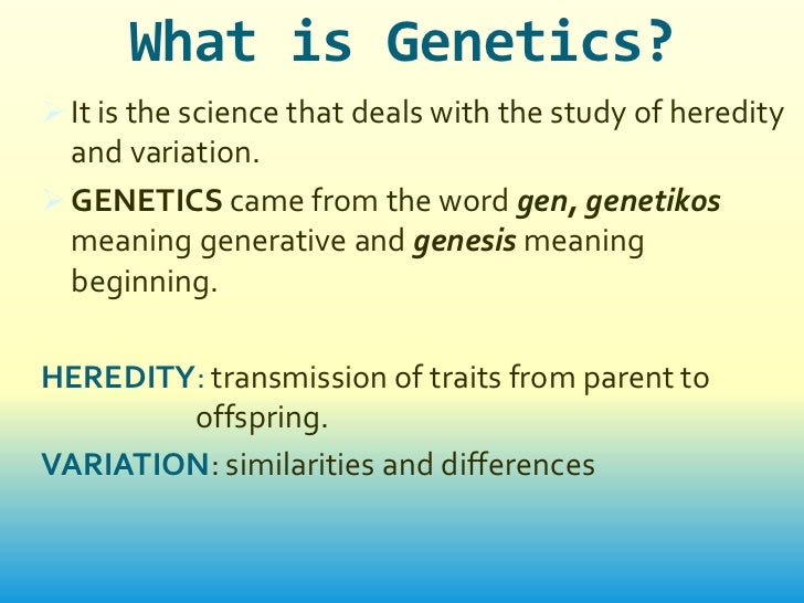 an introduction to the legitimacy of genetic engineering The kind of technology used in genetic engineering is also being developed to treat people with genetic disorders in an introduction to genetics, university.