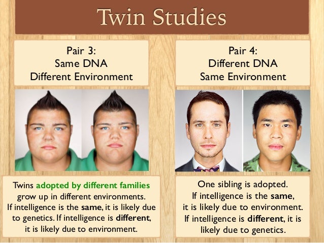 Nurture over nature twin studies on sexual orientation