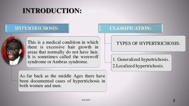Genetics of congenital generalized hypertrichosis Slide 3