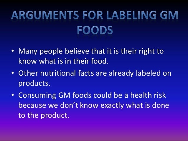 Genetically Modified Foods Cause Health Problems