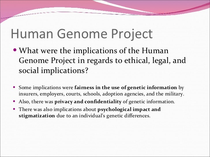 genetics project The genetics project supported the teaching of genetics concepts at the elementary, middle school, and high school levels through teacher professional development and curriculum development.