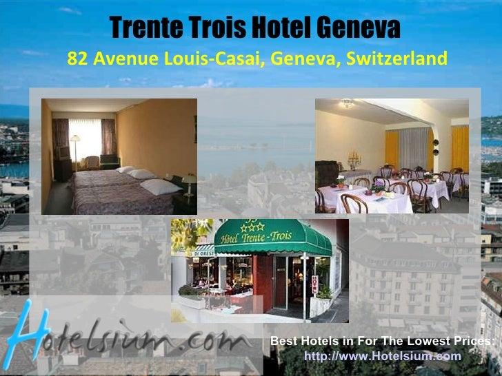 Cheap Hotel Geneva Airport