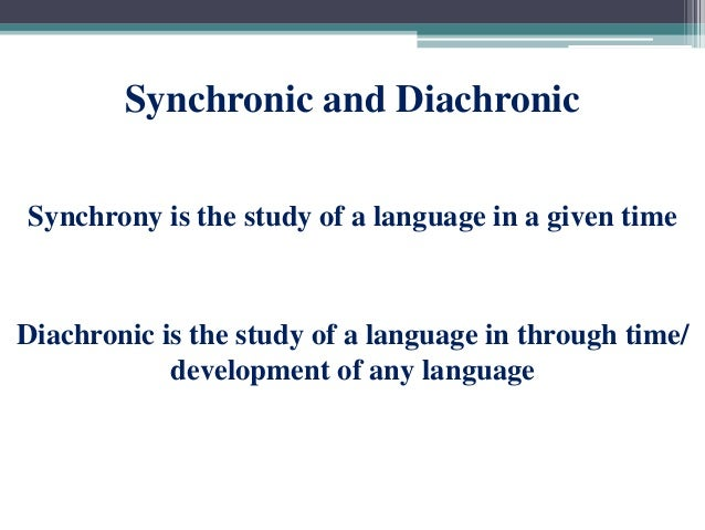Diachronic study | Article about diachronic study by The ...