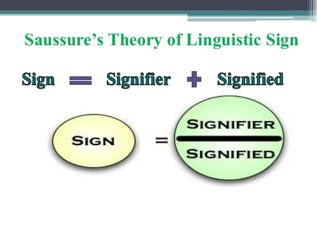 Saussure's Theory of Linguistic Sign