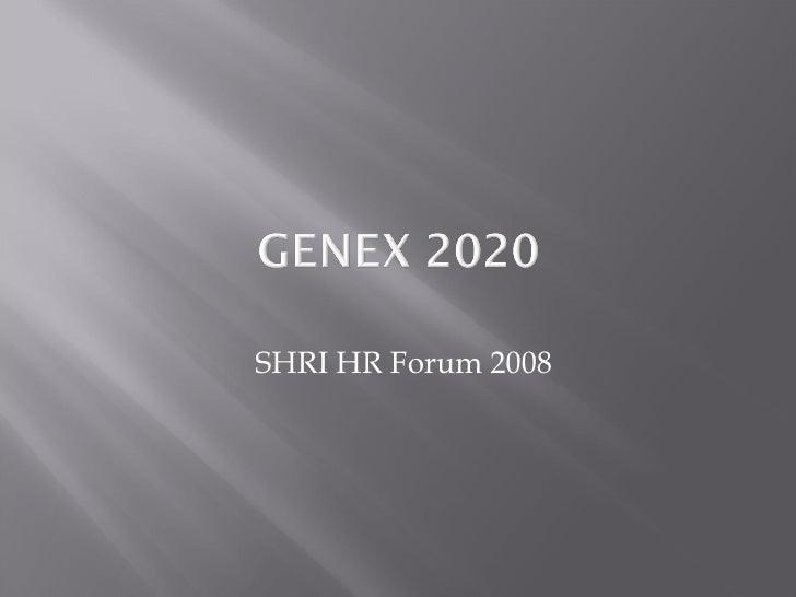 SHRI HR Forum 2008