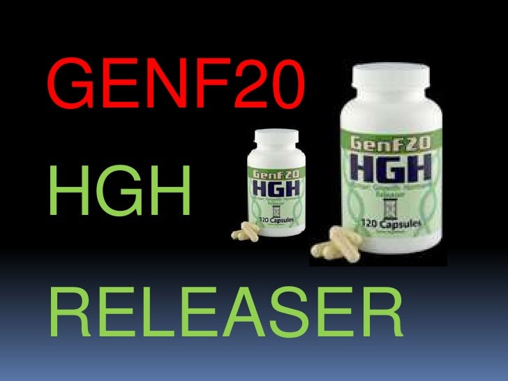 GENF20<br />HGH<br />RELEASER<br />
