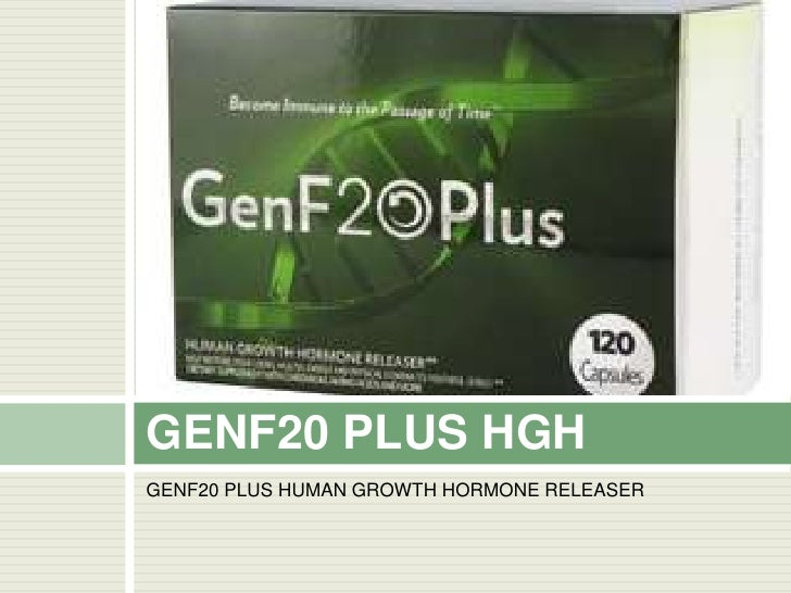 GENF20 PLUS HUMAN GROWTH HORMONE RELEASER<br />GENF20 PLUS HGH2007<br />