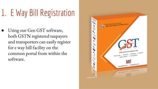 Gen GST E Way Bill Software: A Smart Solution for Transporters & Supp…