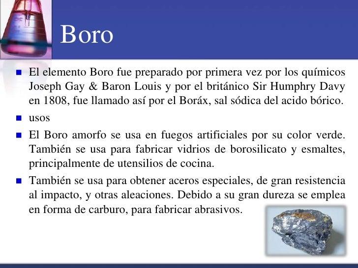 Tabla periodica boro urtaz Image collections