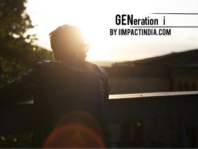 GENeration i by iimpactindia.com