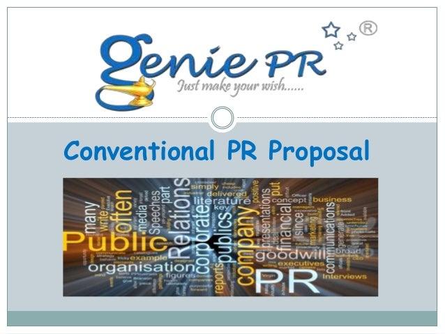 Conventional PR Proposal