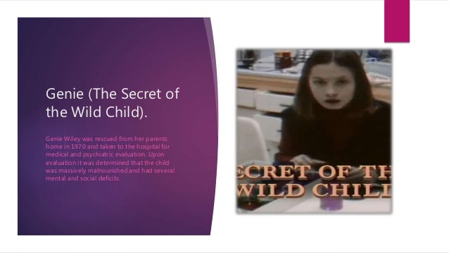 Genie Wiley the Wild Child  Where Is She Now    Bizarrepedia high games
