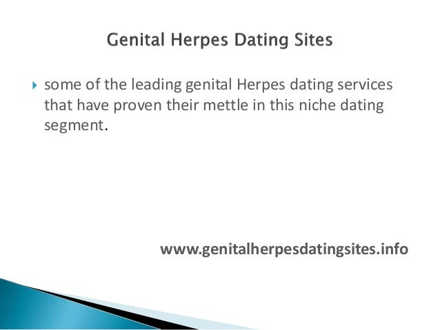 Dating site for people with genital herpes