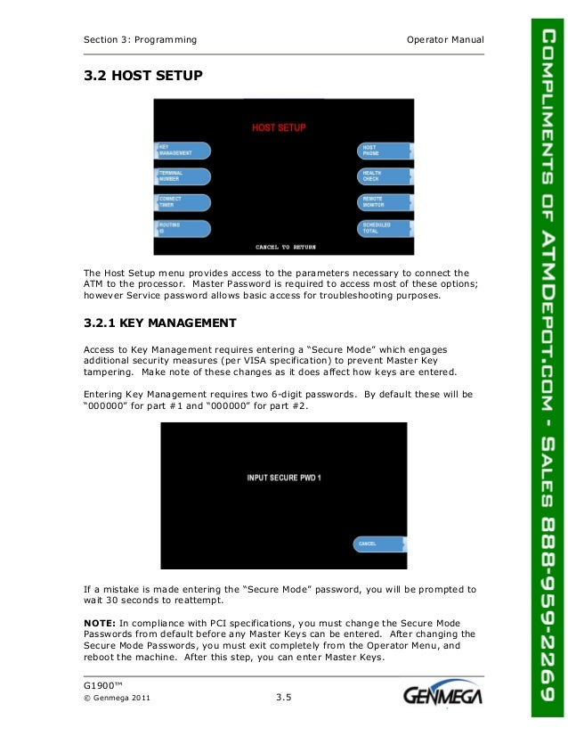 [SCHEMATICS_4JK]  Genmega g1900-atm-owners-manual | Operator Wiring Diagram For Master |  | SlideShare