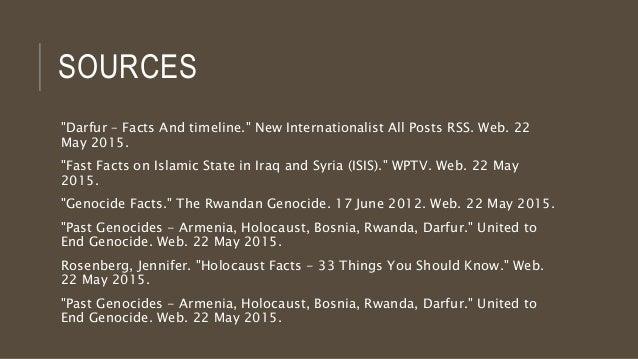 Works Cited - Bosnia Genocide Project - sites.google.com