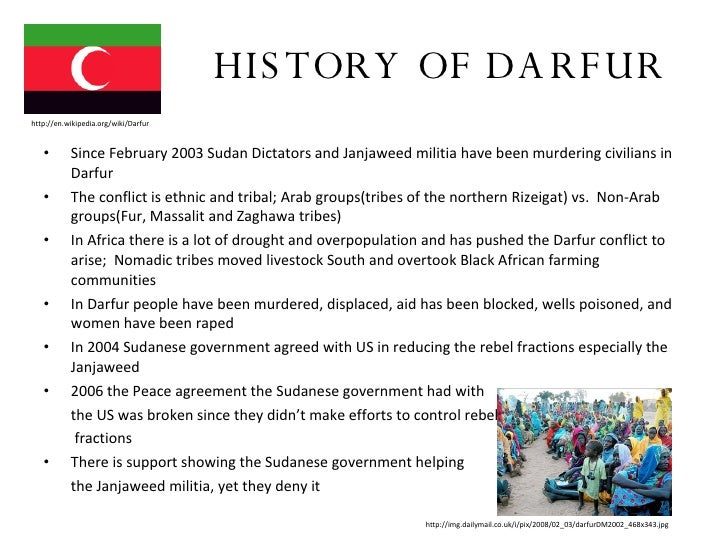 darfur essay thesis The population in darfur is dominated by the muslim consisting of many thesis thesis proposal darfur project (essay sample) instructions: essay.