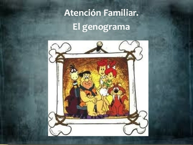 Atención Familiar. El genograma