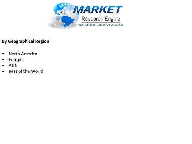 By Geographical RegionBy Geographical Region •NorthAmerica •Europe •Asia •RestoftheWorld
