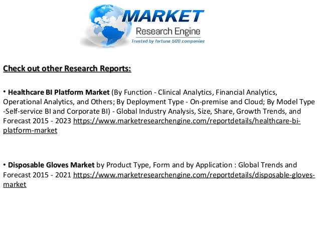 Check out other Research Reports:Check out other Research Reports: • Healthcare BI Platform MarketHealthcare BI Platform M...