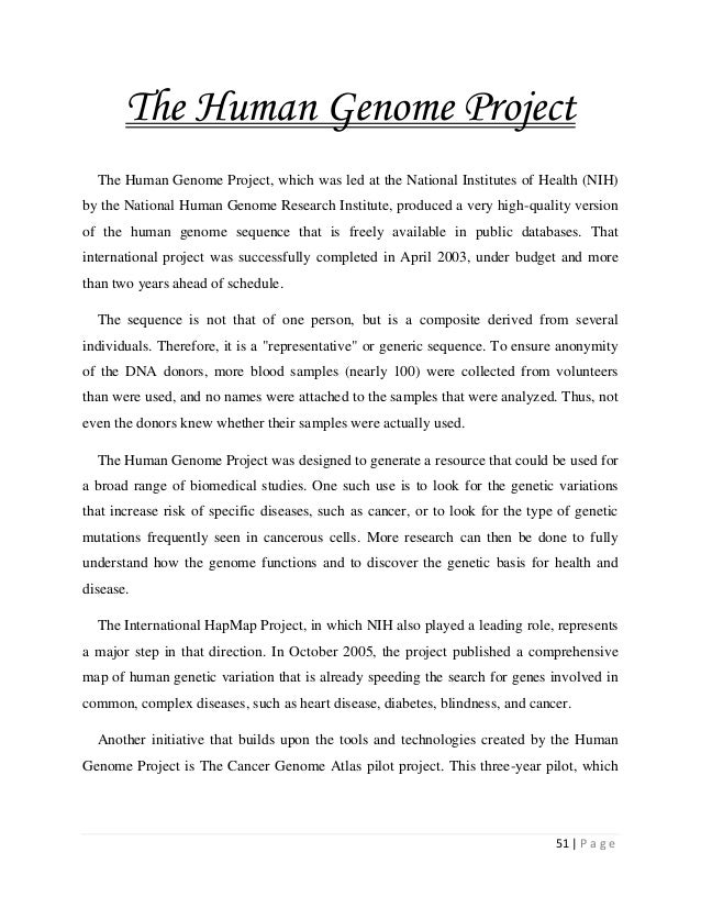 an introduction to the idea of the human genome project Human genome project - hindi 159 likes human genome project - hindi would talk about some of the salient features about the human genome project in hindi.