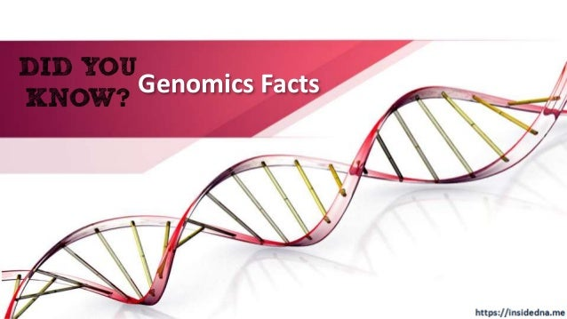 Genomics Facts
