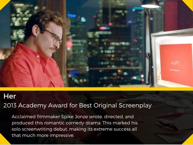 Ten Years of Best Screenplays - Geno Scala Slide 3