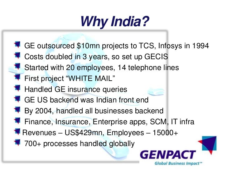 bpos in india essay Bpo – business process outsourcing – an introduction business process outsourcing (bpo) is a broad term referring to outsourcing in all fields a bpo differentiates itself by either putting in new technology or applying existing technology in a new way to improve a process.