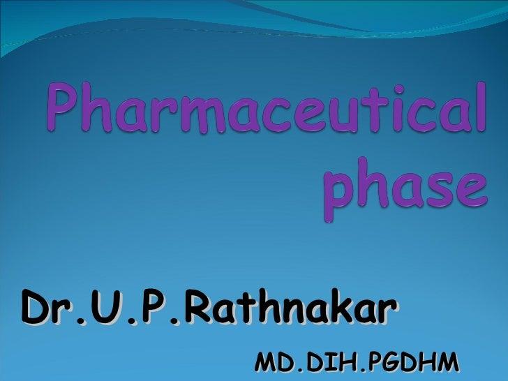 Dr.U.P.Rathnakar MD.DIH.PGDHM