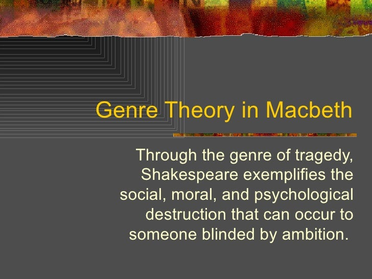 macbeth a tragic hero according to aristotles theories Remember the tragic hero is the main character and he dies at the end, not in the middle also, something that wasn't mentioned is that often the tragic hero, at least in shakespeare, takes his own life at the very end.