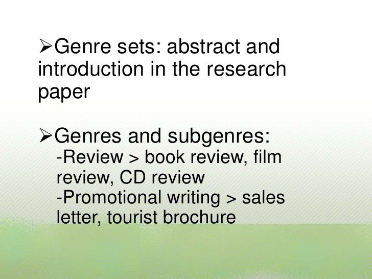 sfl genre literature review Toward a genre writing curriculum: schooling genres in the common core state standards literature review 26 sfl genre research in.