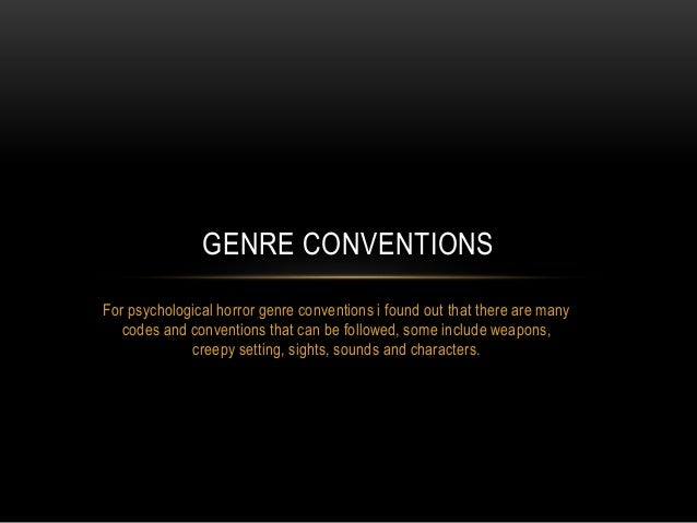 What Are Genre Conventions?