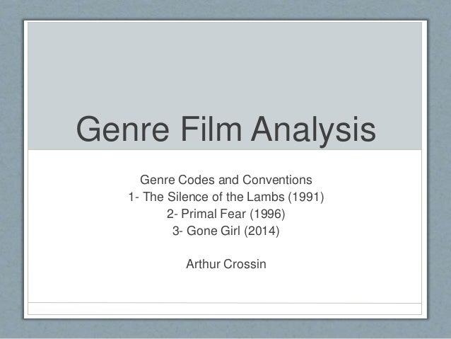 Genre film analysis