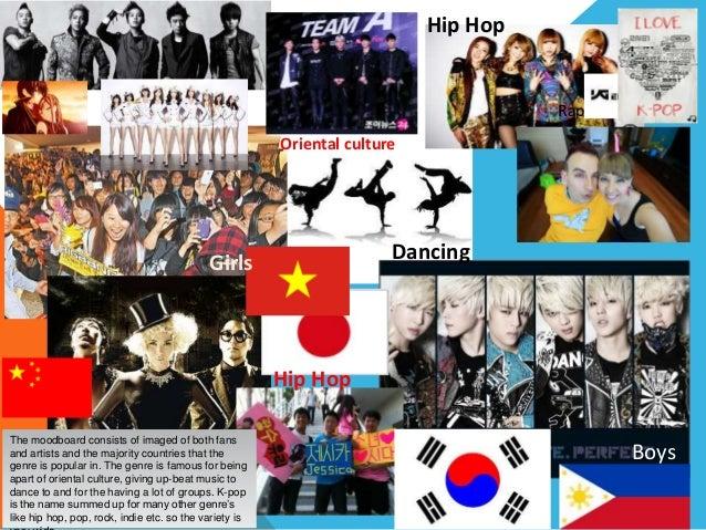 Genre representation - KPop Hip Hop