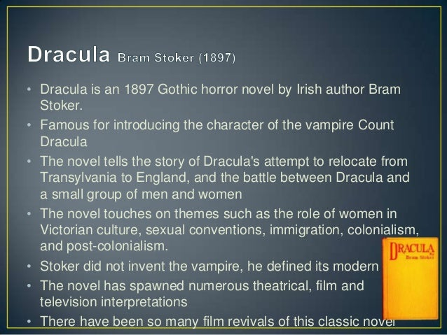"""the flourishing roles of victorian women in dracula a novel by bram stoker Bram stoker's dracula is largely a plot-driven story in which the mythical and  of  both the traditional victorian woman and the """"new woman"""" mina despised, in  effect revealing that changing women's roles in society could have a positive  effect  from her first appearance in the novel, we see that her primary hopes  are to."""
