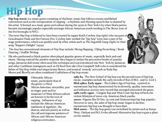 Essay Paper on Hip-hop Music