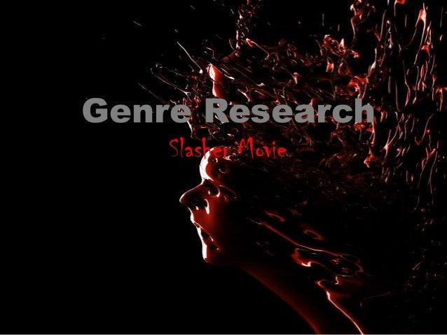 Slashing Back! How to Revive the Slasher Genre