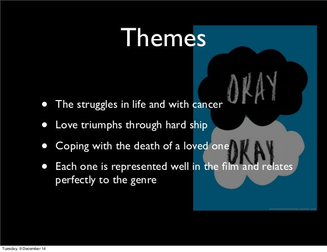 whats the main idea picture video - The fault in our stars