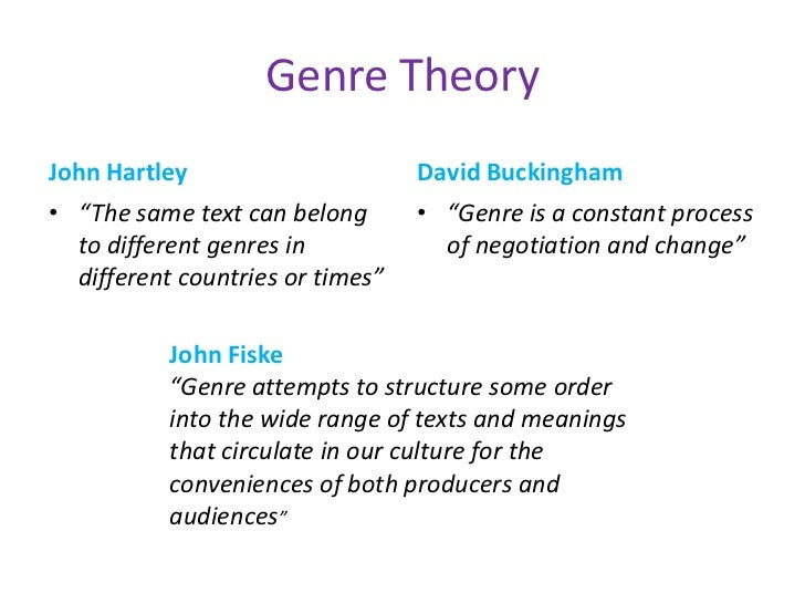 genre theory Tenure stream faculty email: uthomp@aduncedu (919) 843-7772 british  literature from 1660 to 1789 genre theory narrative theory the novel.