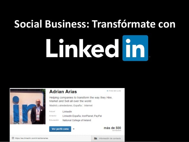 Social Business: Transfórmate con