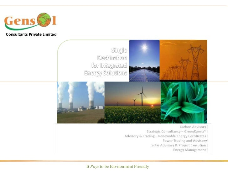 Consultants Private Limited<br />Single Destination <br />for Integrated Energy Solutions<br />          Carbon Advisory |...