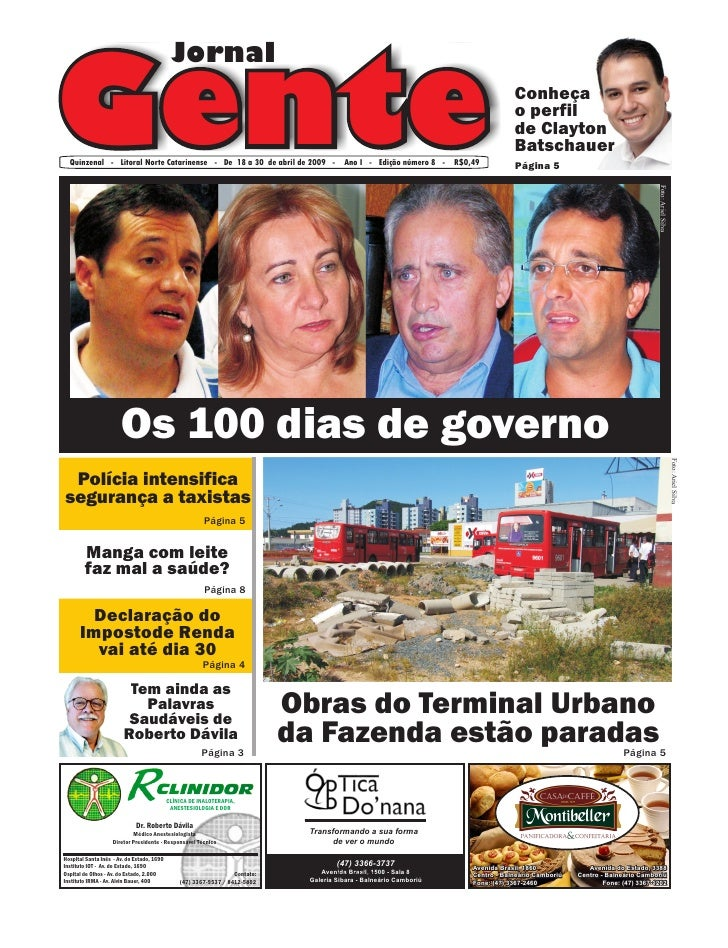 Jornal  Gente                                                                                                             ...
