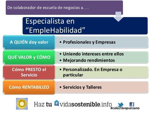 De especialista en naves industriales a. . . Social Media en Turismo #colectivopunzano • Pymes auxiliares de zonaA QUIÉN d...