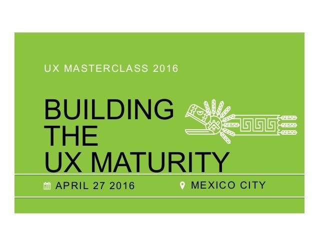 """¿En dónde consigo """"gente UX""""?: Retos y Estrategias para Formar Equipos Profesionales en Diseño de UX Slide 2"""