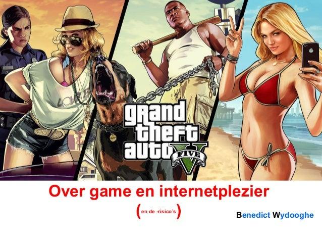 Benedict Wydooghe Over game en internetplezier (en de -risico's )