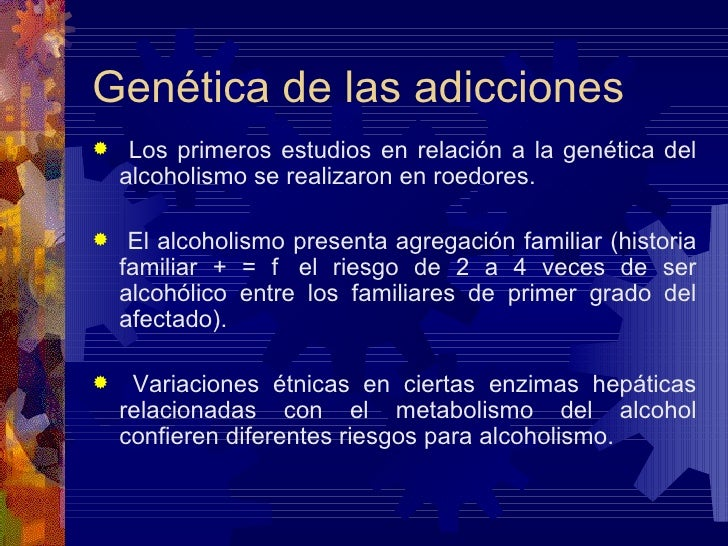 El descenso de la dependencia alcohólica la medicina