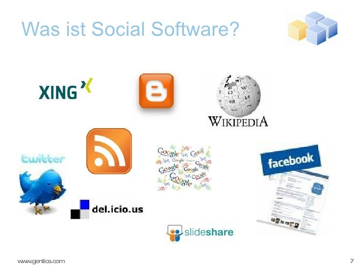 Was ist Social Software?