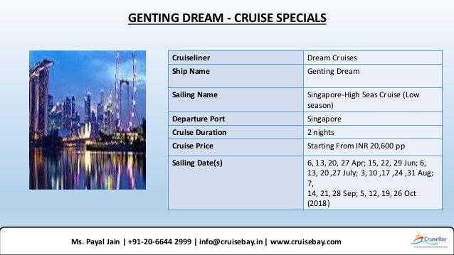 Genting Dream Cruise Bay