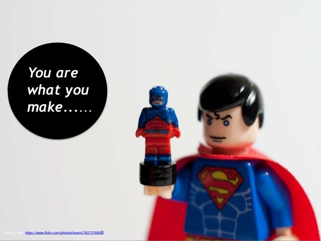 Photo Credit: https://www.flickr.com/photos/levork/7627276928 You are what you make...…
